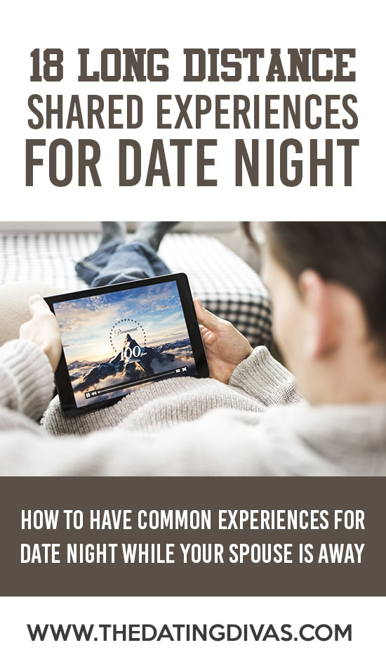 How to have a shared experience with your long distance spouse.