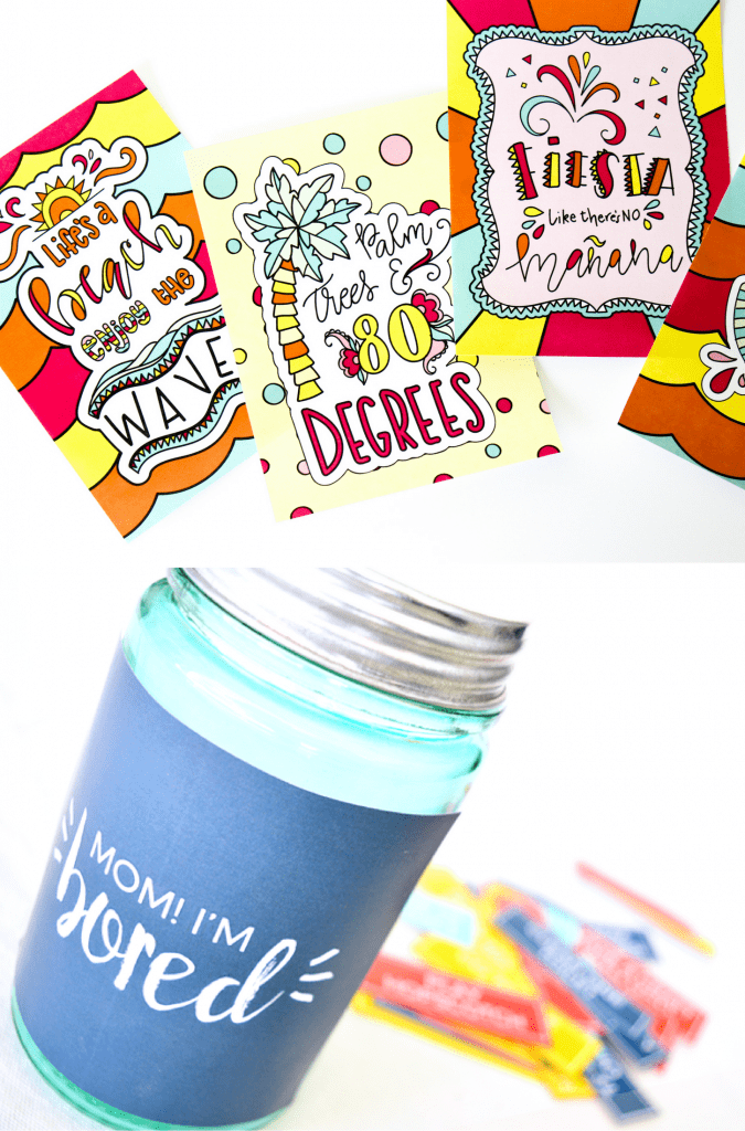 Summer Boredom Buster Printables