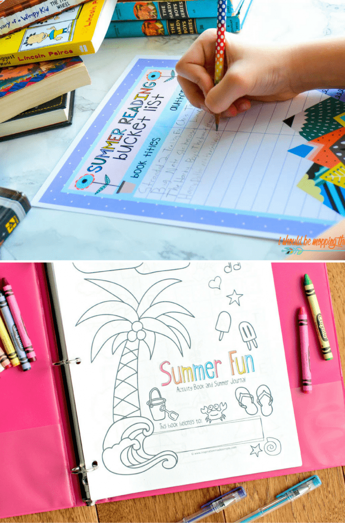 Summer Reading Printables and Activity Book