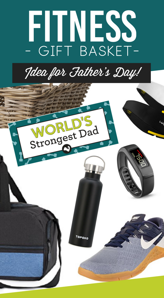 Father's Day Fitness Gift Basket