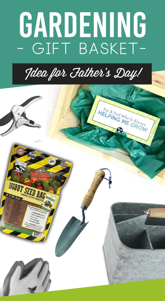 Father's Day Gardening Gift Basket