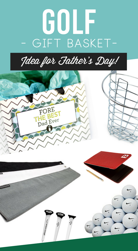 Father's Day Golf Gift Basket
