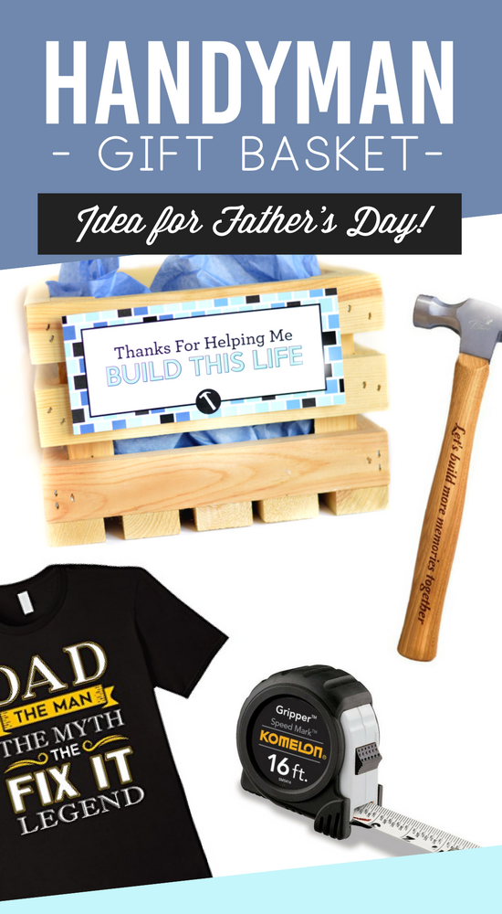 Father's Day Handyman Gift Basket