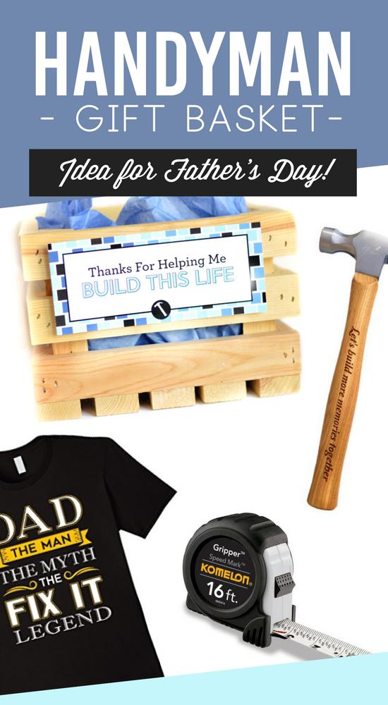 Father's Day Handyman Gift Basket