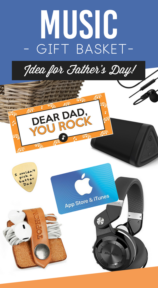 Father's Day Music Gift Basket