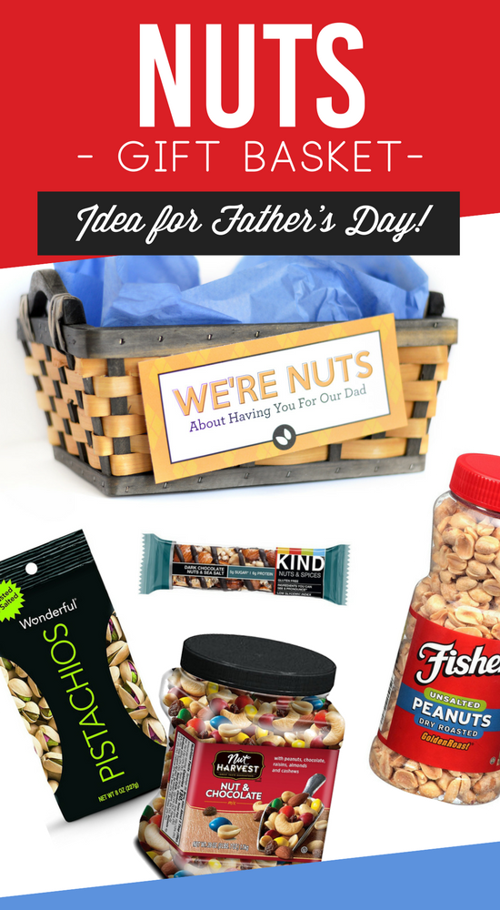 Father's Day Nuts Gift Basket