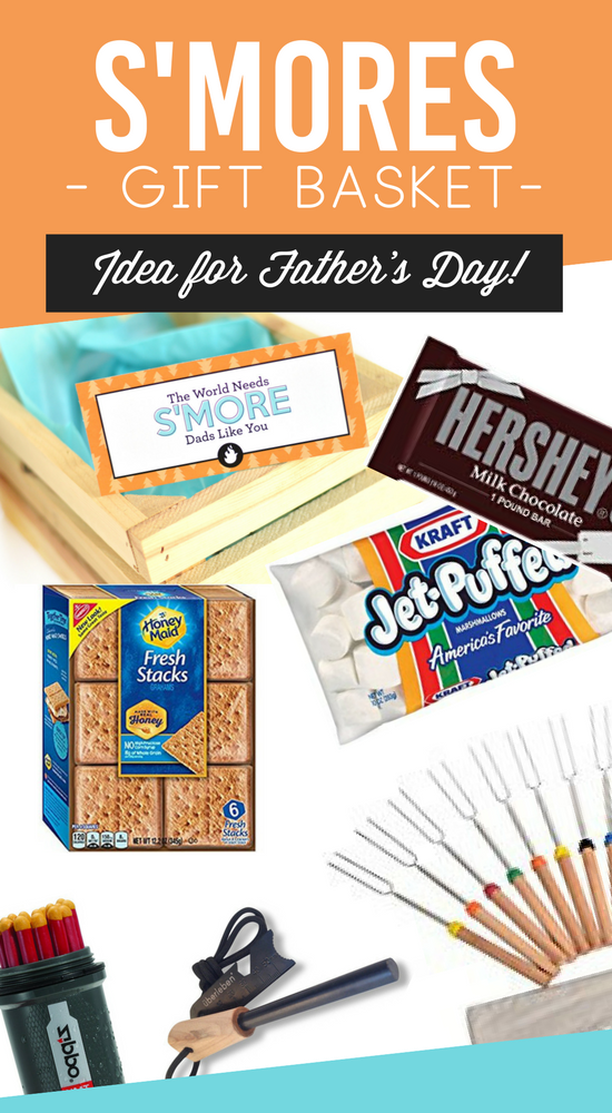 S'Mores Gift Basket Ideas for Father's Day