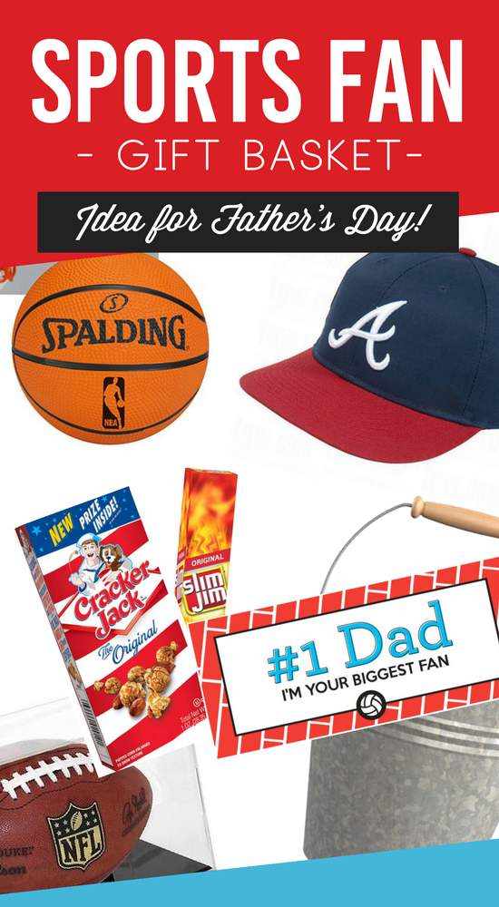 Father's Day Sports Fan Gift Basket