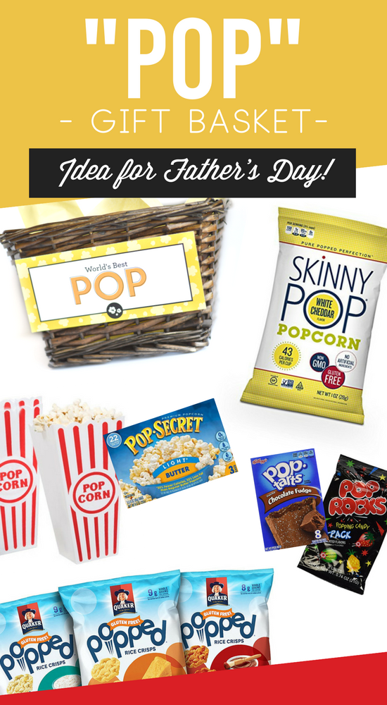 Father's Day POP-Themed Gift Basket