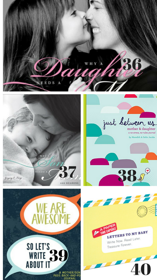 Book Ideas for Mother's Day