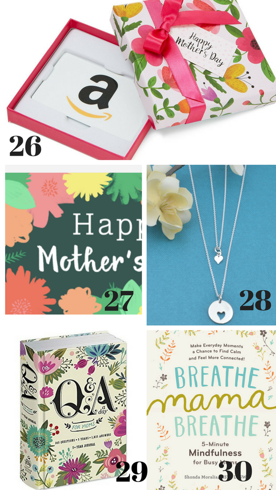 Gift Ideas for your Mother