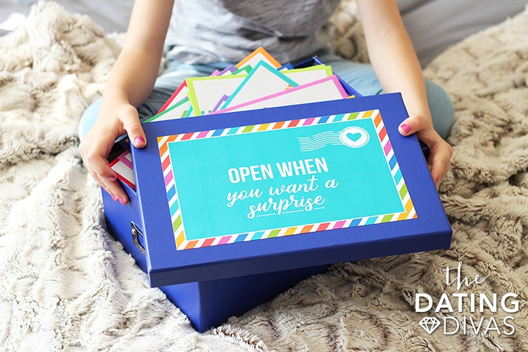 Open When Letters For Kids Box