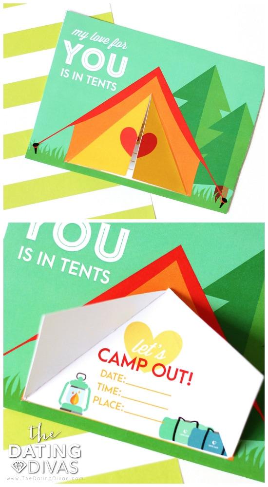 Backyard Camping Date Night