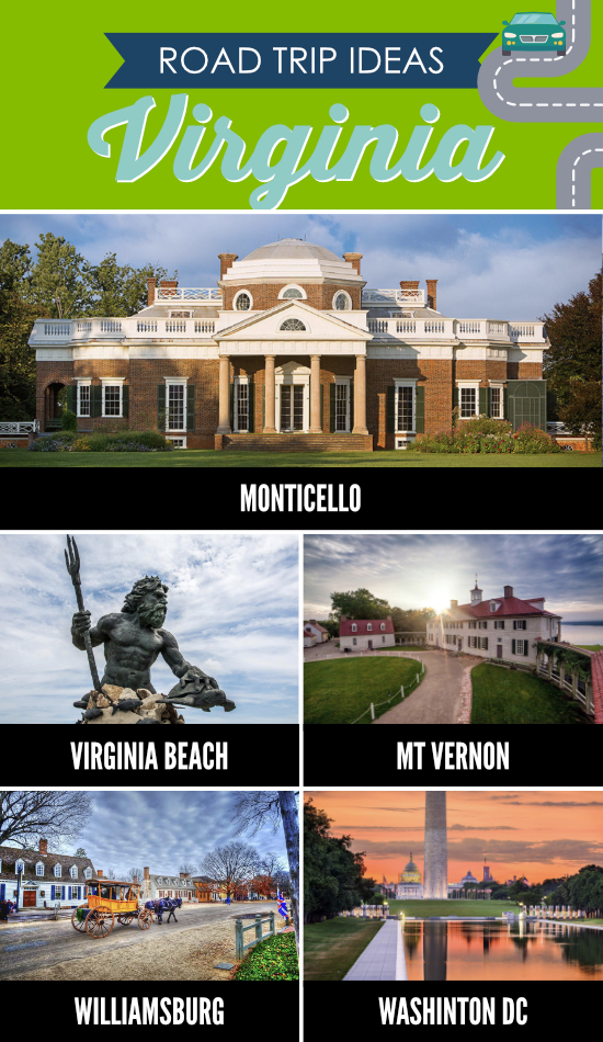 Places to Visit in Virginia