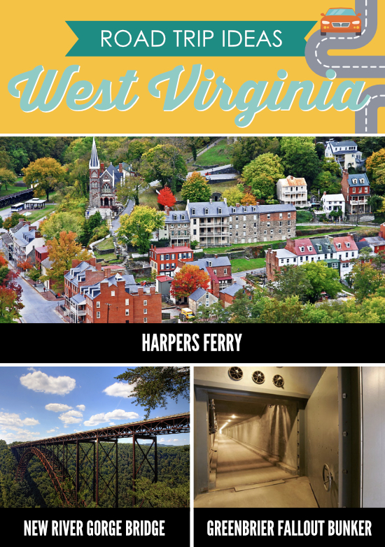 Places to Visit in West Virginia