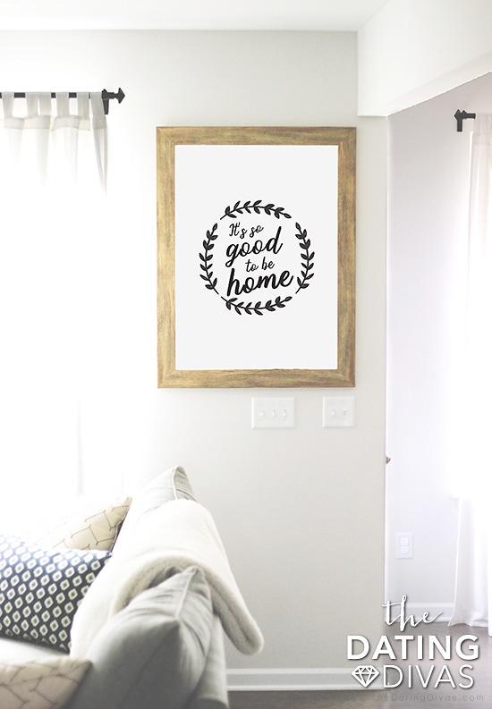 Home Printable Wall Art
