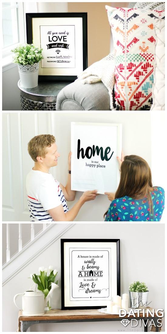 Printable Wall Art for the Living Room