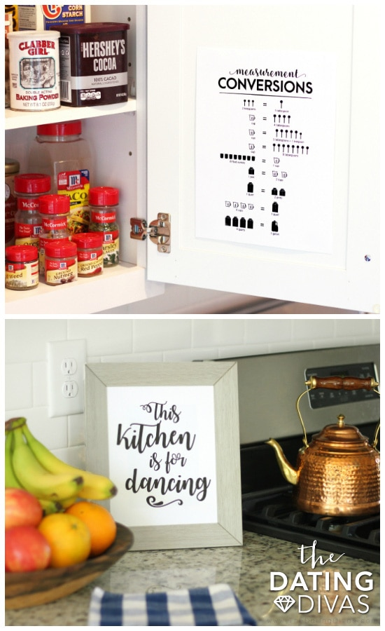 Printable Wall Art for the Kitchen