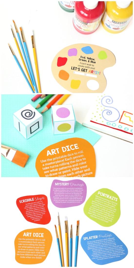 Year of Kid Dates Ideas Artist Date
