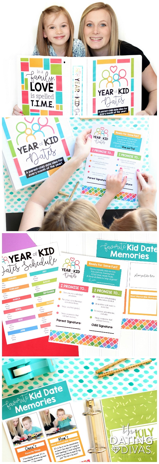 Year of Kid Date Ideas Binder