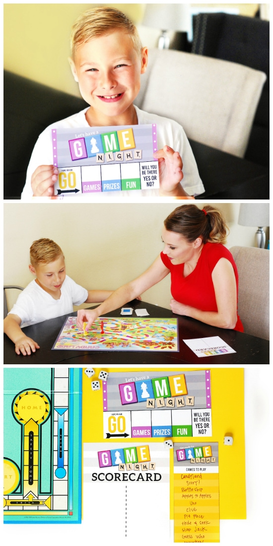 Kid Date Ideas for Game Night