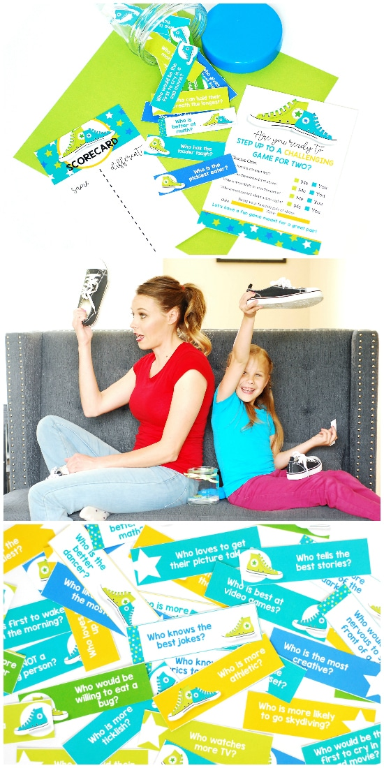 Kid Date Ideas Shoe Game