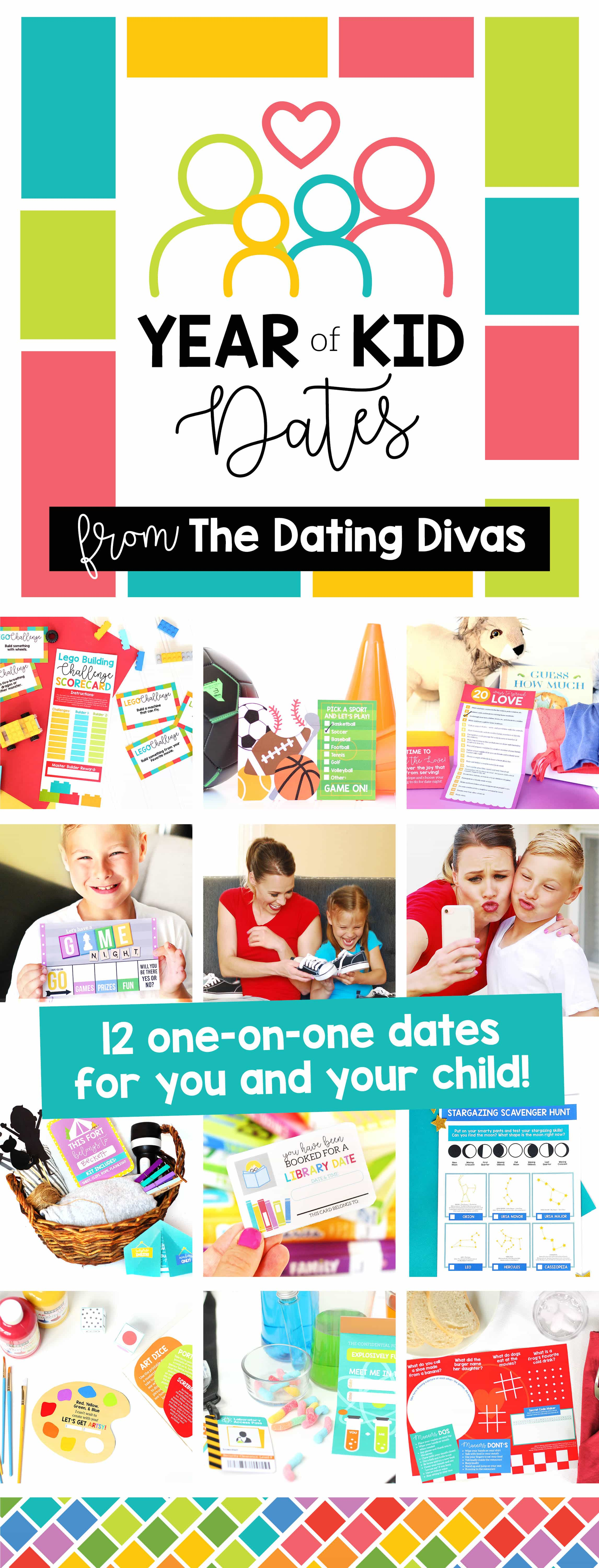A whole year of Parent Child Dates for Kids