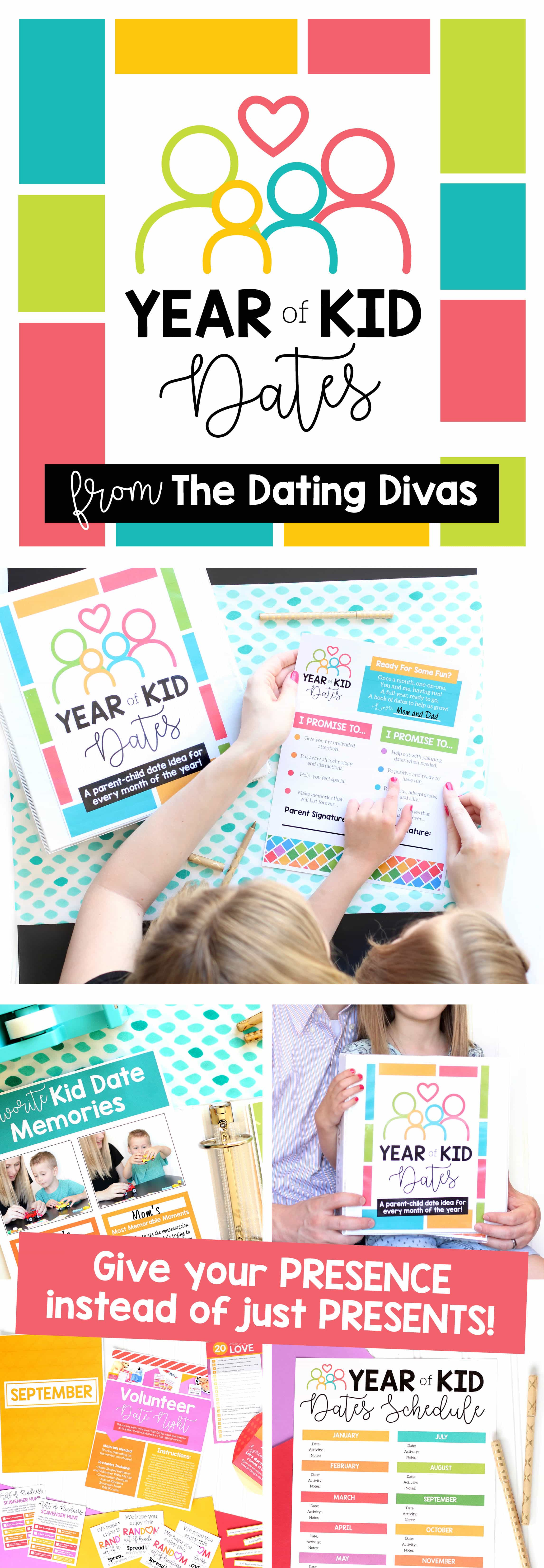 Year of Kid Dates Gift for Kids