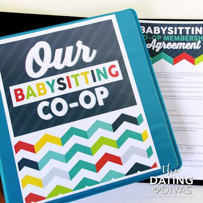 Babysitting Co-Op Kit