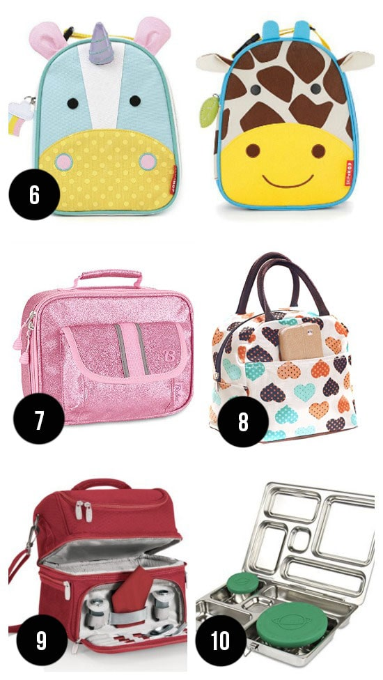 Cute Back to School Lunchboxes