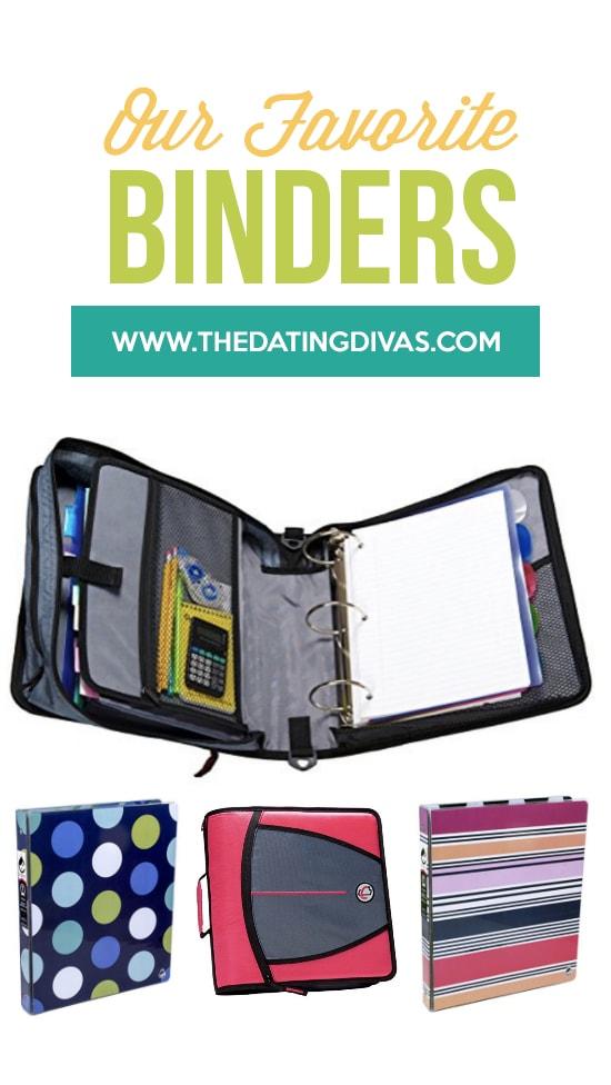 Our Favorite Binders