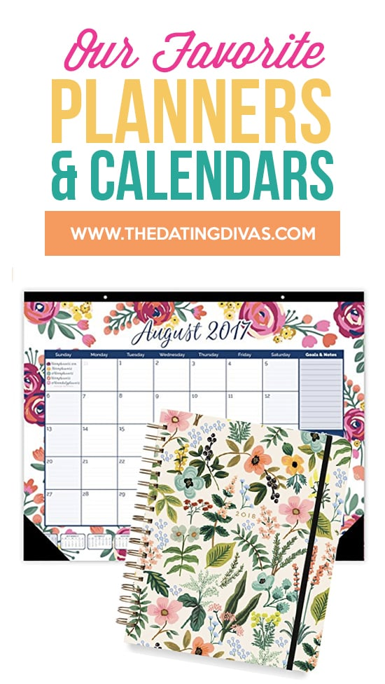 Favorite Planners and Calendars