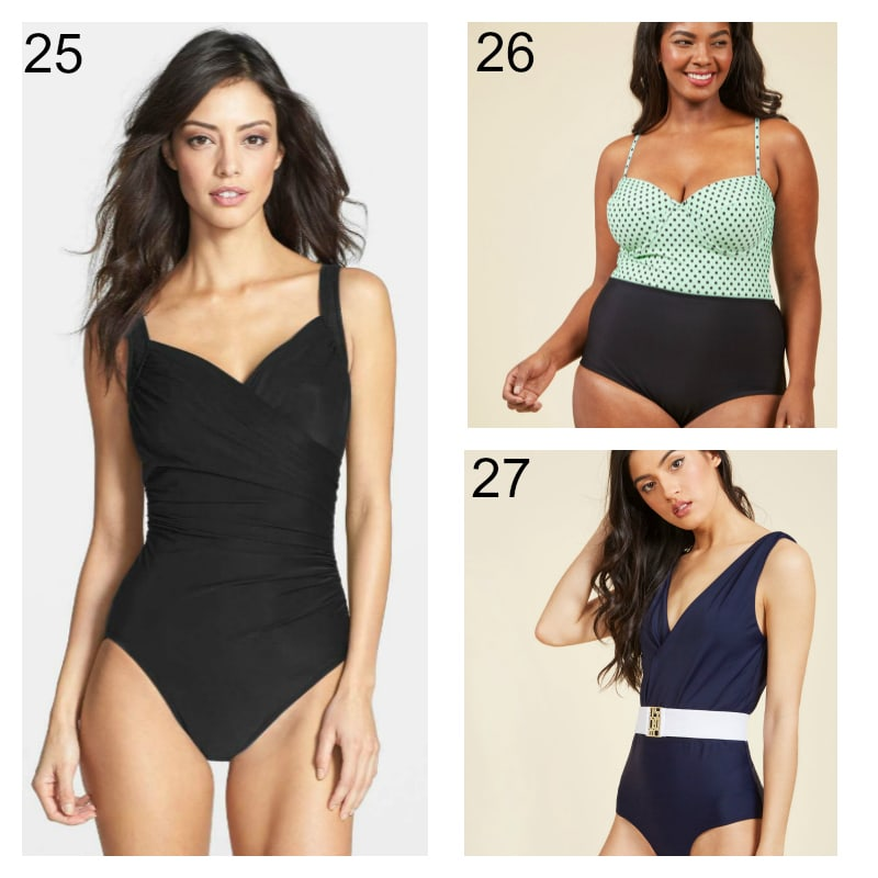 One Piece Swimming Suits