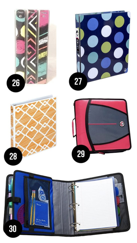 Best Binders for Back to School