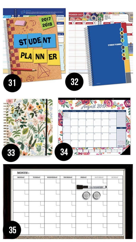 Best Planners and Calendars