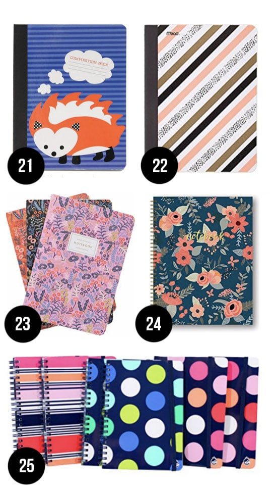 Cutest Notebooks for Back to School