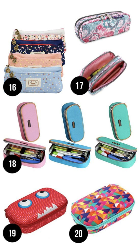The Cutest Pencil Cases