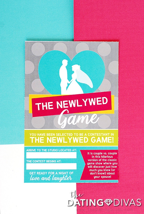 The Newlywed Game Invitation