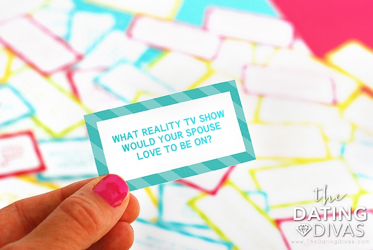 The Newlywed Game Question Cards