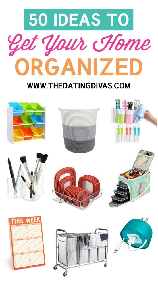 50 Must Haves To Organize Your Life