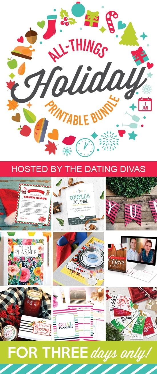 All Things Holiday Printable Bundle