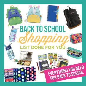 Back to School Shopping List Made Easy