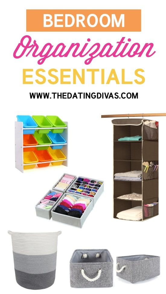 50 must haves to organize your life for Bedroom necessities