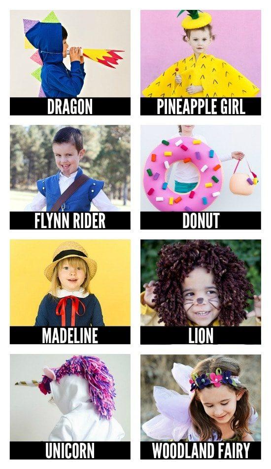 Even More DIY Halloween Costumes for Babies & Children