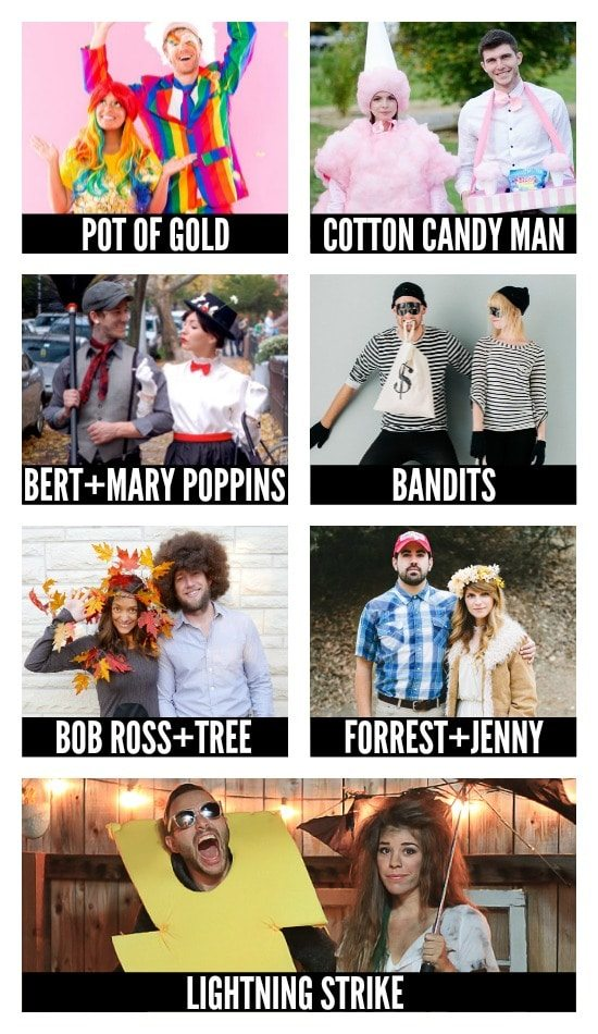 DIY Halloween Costumes for Couples