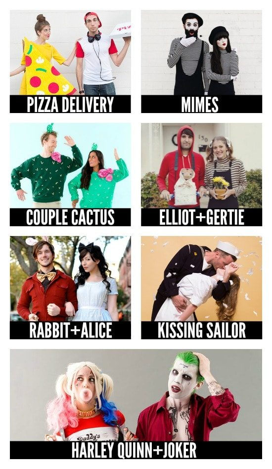 More DIY Halloween Costumes for Couples