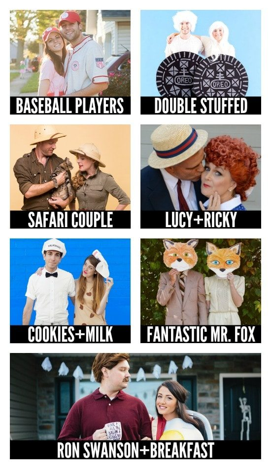 Even More DIY Halloween Costumes for Couples
