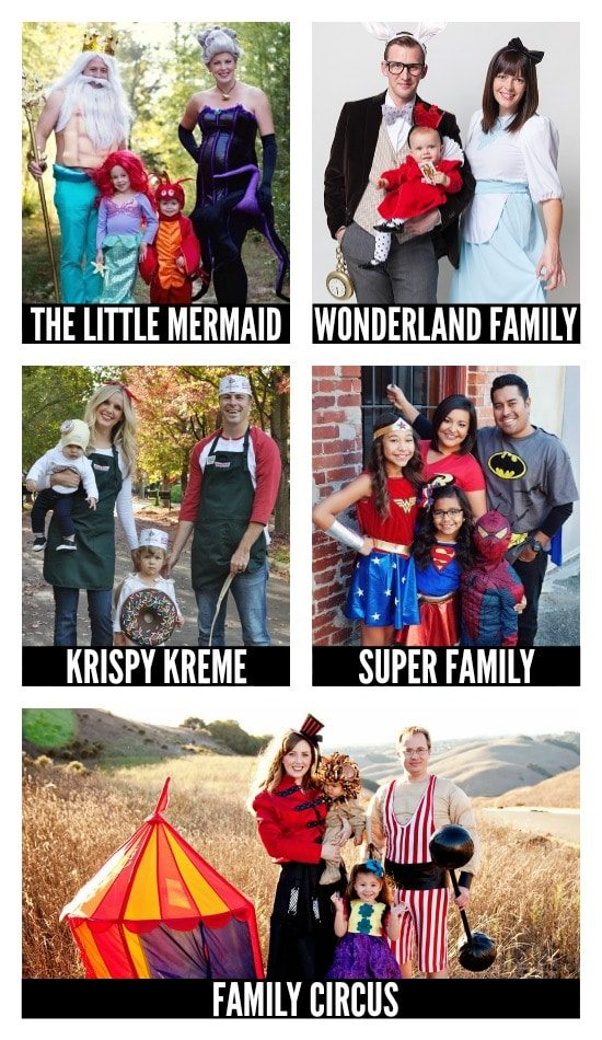DIY Halloween Costumes for Families