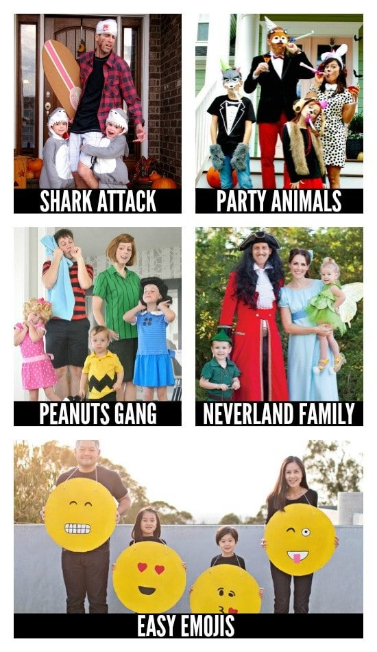 More DIY Halloween Costumes for Families