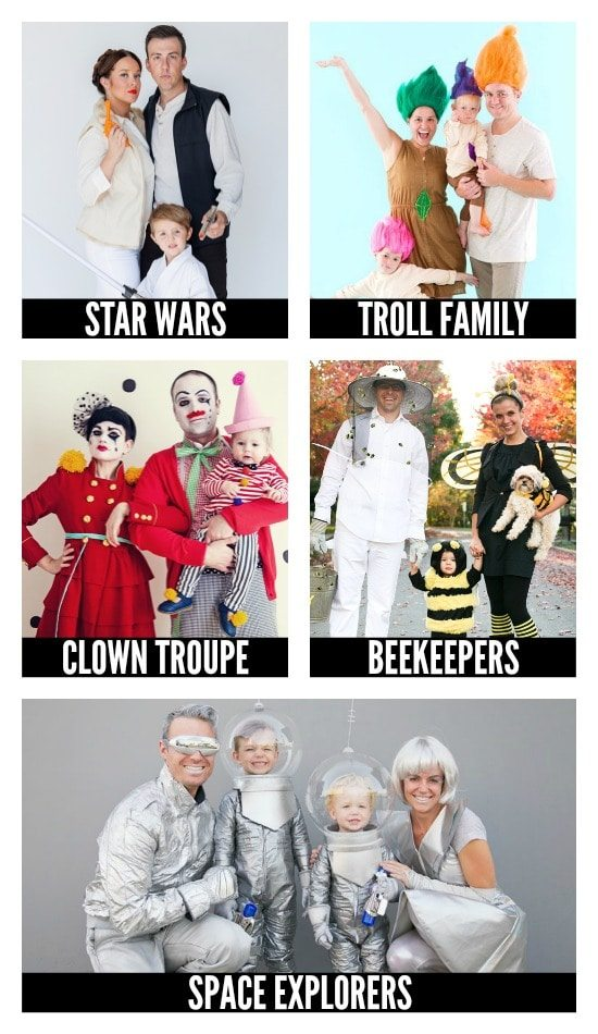 Family DIY Halloween Costumes